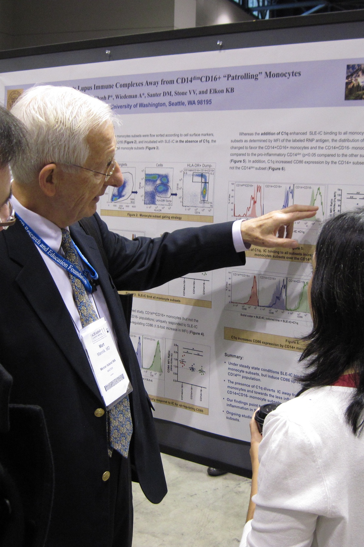Mart Mannik at ACR/ARHP Meeting in 2011